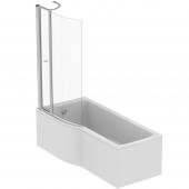Ideal Standard Connect Air - Duschwand mit Tür aus Glas
