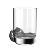 Emco Round - Glashalter Glasteil satiniert chrom