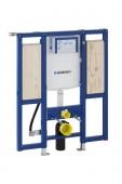 Geberit Duofix - Montageelement für Wand-WC 1120 mm mit Sigma Unterputz-Spülkastem 120 mm