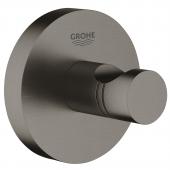 Grohe Essentials - Bademantelhaken hard graphite gebürstet