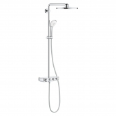 GROHE Euphoria SmartControl - Duschsystem Rainshower 310 Smart Active mit Thermostatarmatur chrom