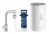Grohe Red - Standventil MONO mit Boiler M-Size und L-Auslauf chrom 1