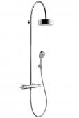 Hansgrohe Axor Citterio - Showerpipe mit Thermostat und 1jet Kopfbrause