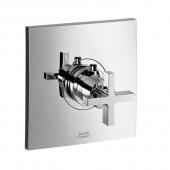 Hansgrohe Axor Citterio - Thermostat 59 l / min Highflow Unterputz mit Kreuzgriff chrom