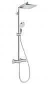 Hansgrohe Crometta E 240 - 1jet Showerpipe chrom