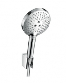 Hansgrohe Raindance Select S - Brausenset 120 Porter'S chrom mit 1250 mm Brauseschlauch