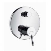hansgrohe Talis S2 - Concealed single lever bathtub mixer för 2 konsumenter krom