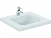 Ideal Standard CONNECT FREEDOM - Washbasin 600x555mm with 1 tap hole without overflow vit with IdealPlus
