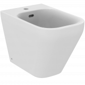 Ideal Standard Tonic II - Standbidet 1 Hahnloch 355 x 560 x 400 mm weiß mit Ideal Plus