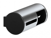 Keuco Plan - Toilet roll holder chrome / black