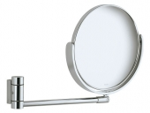 Keuco Plan - Cosmetic mirror mirrored / silver anodised