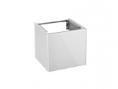 Keuco Royal Reflex - Vanity unit 34040, hinged left, 1 door, white / white