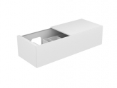 Keuco Edition 11 - Vanity unit 31165, 1 front pull, white high gloss / white high gloss