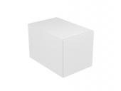 Keuco Edition 11 - Base cabinet 31310, 1 front pull, white Hochgl. / White Hochgl.
