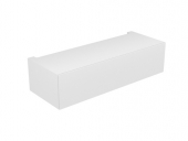 Keuco Edition 11 - Base cabinet 31313, 1 front pull, white Hochgl. / White Hochgl.