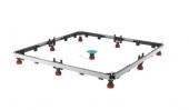Mepa - Duschwannenfüße Montagerahmen SF Rechteck für Wannen bis 1000 x 1000 mm