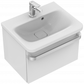 Ideal Standard Tonic II - Waschtischunterschrank 1 Auszug 500 x 360 x 350 mm hochglanz weiß lackiert