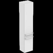 Ideal Standard Tonic II - Hochschrank mit 2 Türen 350 x 300 x 1735 mm hochglanz hellbraun