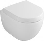 Villeroy & Boch Subway - Wall-mounted washdown toilet Compact utan DirectFlush pergamon med CeramicPlus