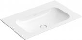 Villeroy & Boch Finion - Schrankwaschtisch 800 x 500 mm ohne Überlauf weiß alpin CeramicPlus