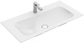 Villeroy & Boch Finion - Schrankwaschtisch 1000 x 500 mm ohne Überlauf stone white mit CeramicPlus