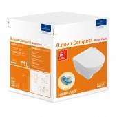 Villeroy & Boch O.novo - Combi-Pack Compact Wand-Tiefspül-WC 490 x 360 mm weiß