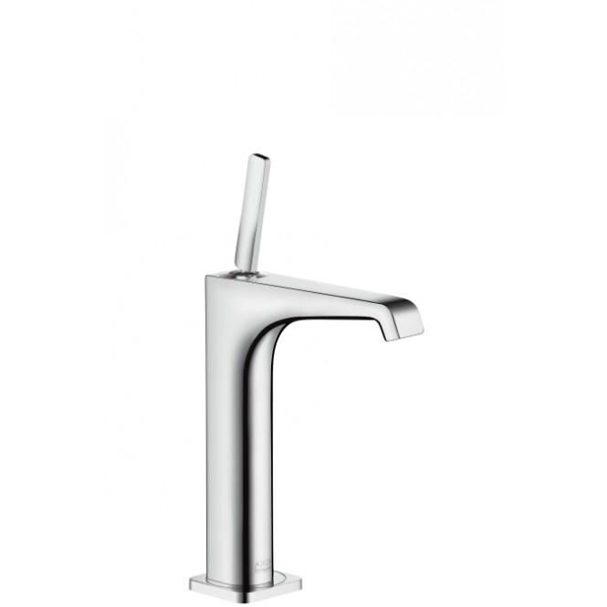 Hansgrohe Axor Citterio E - Einhebel-Waschtischmischer 215 ohne Zugstange für Waschschüsseln chrom