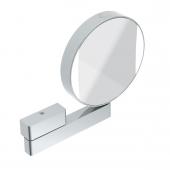 Emco Universal - LED Rasier- und Kosmetikspiegel rund mit Direktanschluss chrom