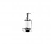Emco Flow - Seifenspender Glasteil satiniert Kunststoffpumpe