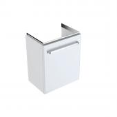 Geberit Renova Nr. 1 Comprimo - Waschtischunterschrank 500 x 604 x 337 mm weiß matt / weiß hochglanz