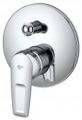 Ideal Standard CeraMix Blue - Monomando de bañera empotrado para 2 llaves cromo