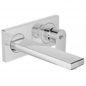 Ideal Standard Edge - Wand-Waschtischarmatur Unterputz Bausatz 2,5 l/min Ausladung 191 mm chrom1