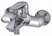 Ideal Standard CeraMix Blue - Monomando de bañera visto para montaje mural con proyección 173 mm cromo