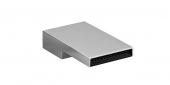 Dornbracht Deque - Caño de lavabo tamaño XXS con vaciador automático platinum matt