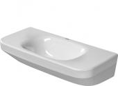 Duravit DuraStyle - Handwaschbecken 500 mm ohne Überlauf ohne Hahnloch weiß WonderGliss
