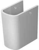 Duravit DuraStyle - Halbsäule für 231965 / 231960 / 231955 weiß WonderGliss