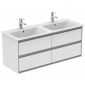 Ideal Standard Connect Air - Waschtisch-Unterschrank 1200 x 440 x 517 mm weiß / hellgrau