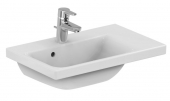 Ideal Standard Connect Space - Lavabo para mueble 600x380mm with 1 tap hole with overflow blanco con IdealPlus