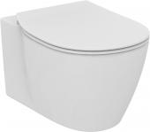Ideal Standard Connect - Wand-WC verdeckte Befestigung 360 x 540 x 340 mm weiß mit Ideal Plus