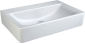 Ideal Standard Connect - Lavabo para mueble 600x460mm without tap holes without overflow blanco con IdealPlus