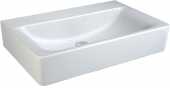 Ideal Standard Connect - Lavabo para mueble 550x460mm without tap holes without overflow blanco con IdealPlus
