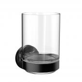 Emco Round - Glashalter Glasteil satiniert schwarz