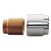 Grohe - Verlängerungsset 46238 für Wandbatterie 30 mm 3 / 4'' 2 Stück chrom