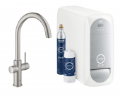 Grohe Blue Home - Starter Kit Bluetooth/WIFI C-Auslauf supersteel 1