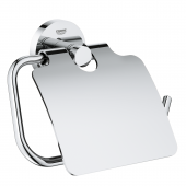 Grohe Essentials - WC-Papierhalter mit Deckel chrom