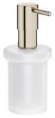Grohe Essentials - Seifenspender für Halter / -Cube nickel
