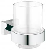 Grohe Essentials Cube - Glas mit Halter