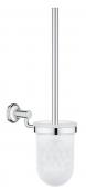 Grohe Essentials Authentic - Toilettenbürstengarnitur chrom
