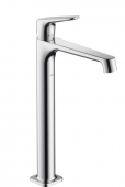 Hansgrohe Axor Citterio M - Einhebel-Waschtischmischer ohne Zugstange für Waschschüsseln