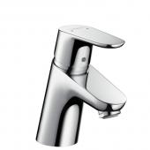 Hansgrohe Focus - Einhebel-Waschtischmischer 70 mit Push-Open Ablaufgarnitur